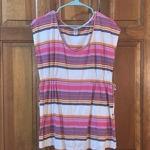 Size M Old Navy Striped Maternity Top